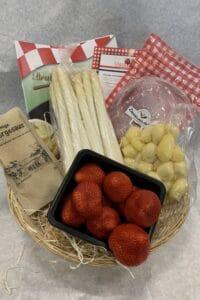 Aspergepakket heel Brabant eet asperges