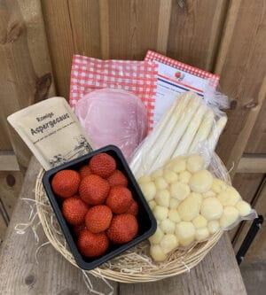 Heel Brabant eet asperges met aardbeien pakket