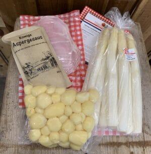 Heel Brabant eet asperges pakket
